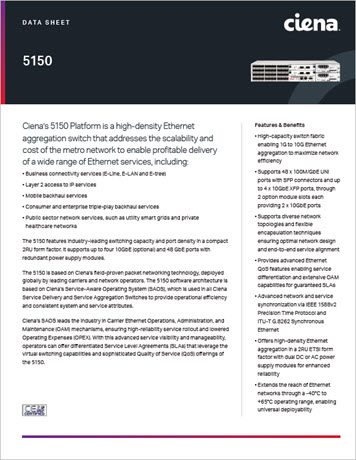 5150 Platform Datasheet preview
