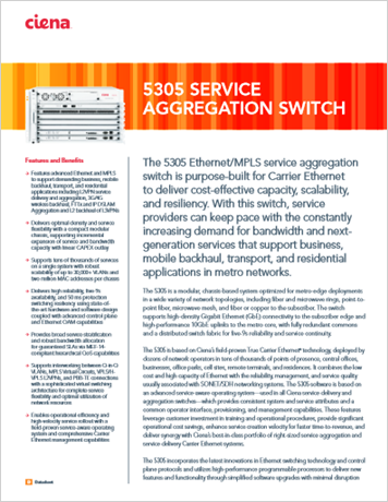 5303 Servive Aggregation Switch