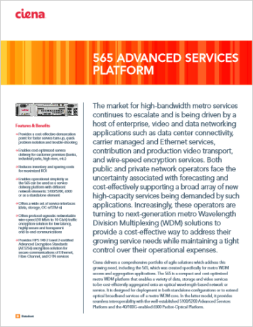 565 Advanced Services Platform