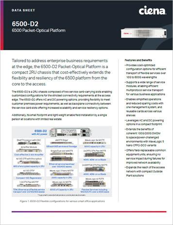 6500-D2 Data sheet preview