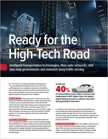 Thumbnail for Government Technology: Ready for the High-Tech Road infobrief