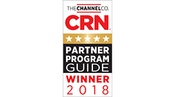 CRN Partner Program Guide Winner 2018 Award logo