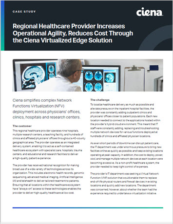 Thumbnail image for Regional Healthcare Provider Increases Operational Agility, Reduces Cost Through Virtualized Edge Solution case study