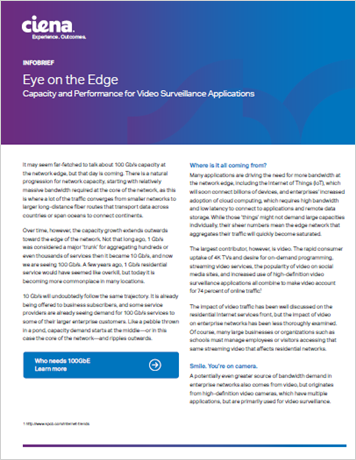 Eye on the Edge Capacity and Performance for Video Surveillance Applications