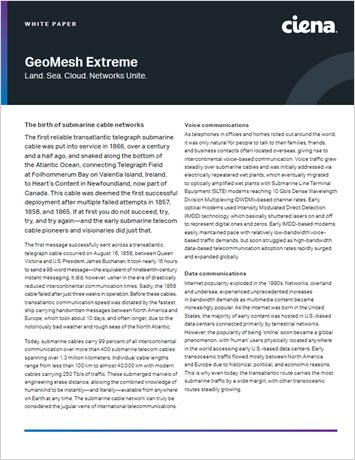 Thumbnail image for GeoMesh Extreme. Land. Sea. Cloud. Networks Unite. whitepaper