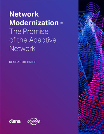 GovLoop: Network Modernization - The Promise of the Adaptive Network eBook thumbnail