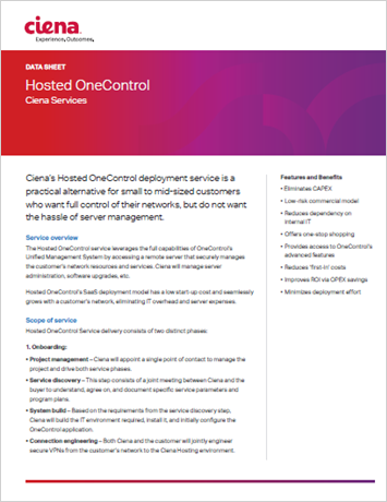Hosted OneControl