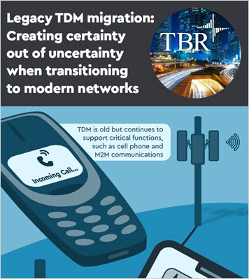 Thumbnil image for Legacy TDM migration: Creating certainty out of uncertainty when transitioning to modern networks infographic