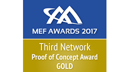 MEF 2017 Proof of Concept Award Gold