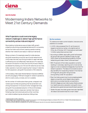 Modernizing India's Networks to Meet 21st Century Demands