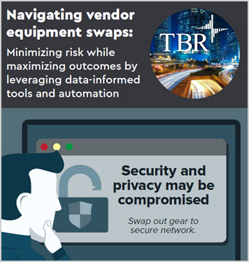 Thumbnail inmage for Navigating vendor equipment swaps: Minimizing risk while maximizing outcomes infographics