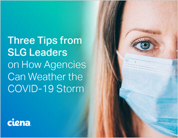 Three Tips from SLG Leaders on How Agencies Can Weather the COVID-19 Storm inforbrief