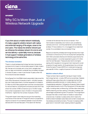 Why 5G Is More than Just a Wireless Network Upgrade infobrief