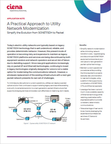 A Practical Approach to Utility Network Modernization