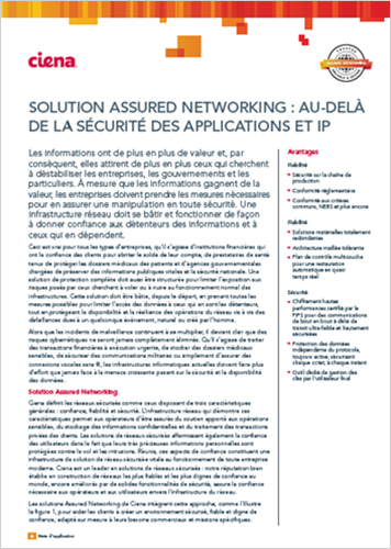 Assured Networking