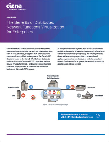 The Benefits of Distributed Network Functions Virtualization for Enterprises