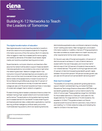Building K-12 Networks to Teach the Leaders of Tomorrow