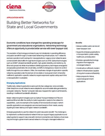 Building Better Networks for State and Local Governments