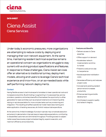 Ciena Assist