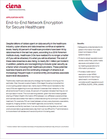 End-to-End Network Encryption for Secure Healthcare