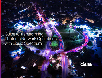 Thumbnail image of the cover of the Guide: Transforming photonic network operations with Liquid Spectrum eBook