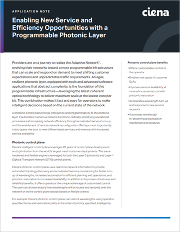 App Note PDF Photonic Layer