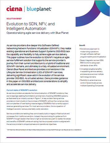 prx evolution to SDN NFV SB