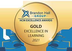 Brandon Hall Group HCM Excellence Award 2021