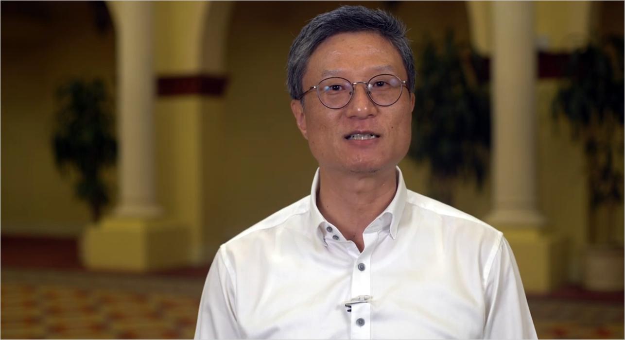 Henry Kim speaking