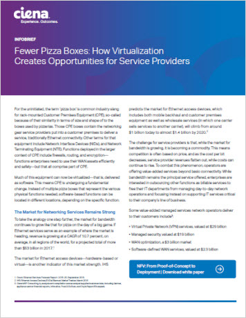 Fewer Pizza Boxes: How Virtualization Creates Opportunities for Service Providers