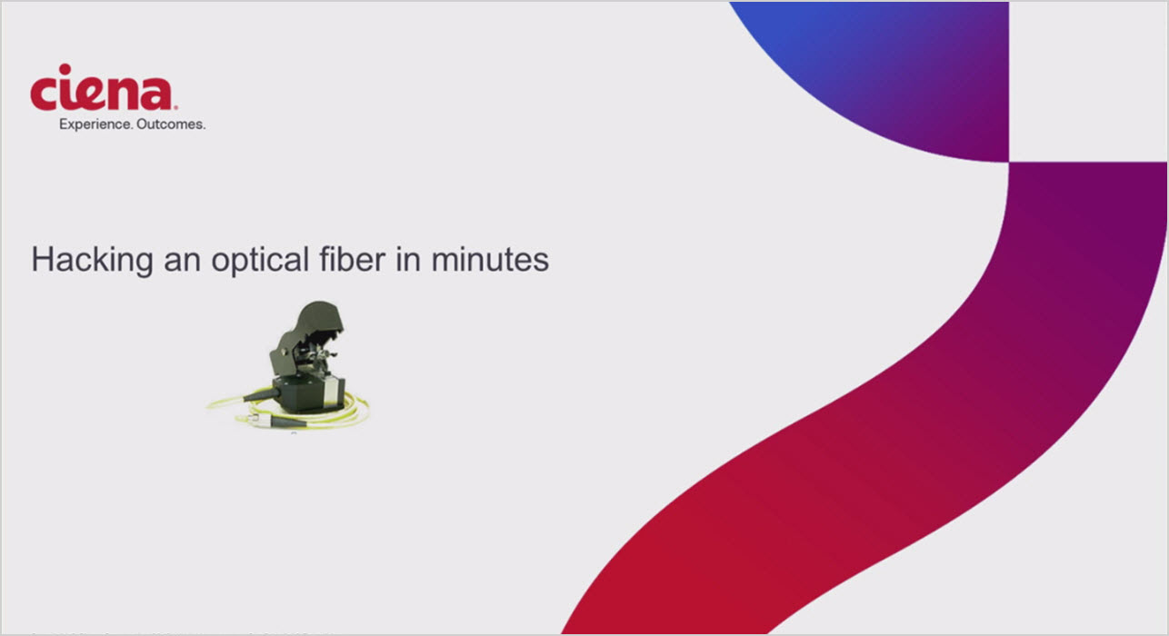 Hacking an optical fiber line in minutes
