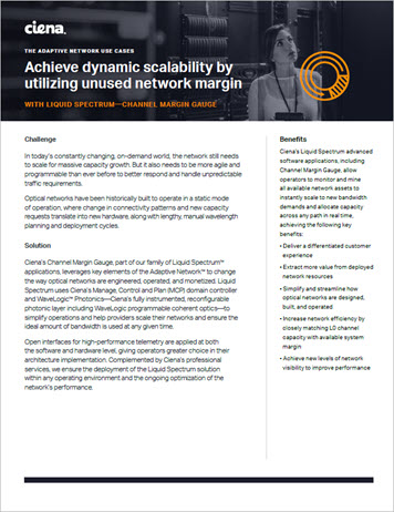 Achieve Dynamic Scalability by Utilizing Unused Network Margin