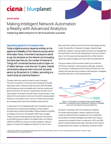 Making Intelligent Automation a Reality with Advanced Analytics