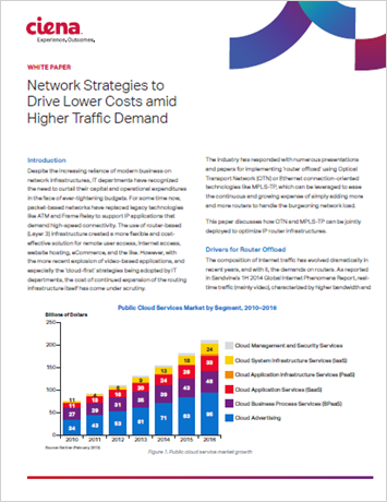 Network Strategies to Drive Lower Costs amid Higher Traffic Demand