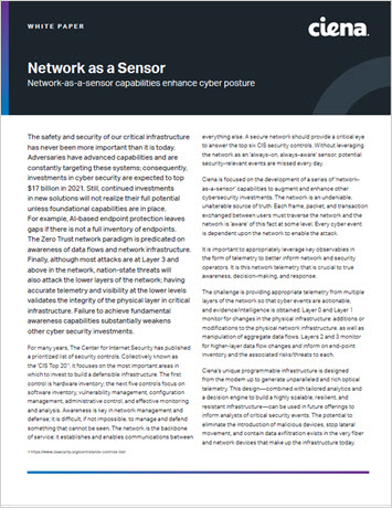 Thumbnail image for the Network as a Sensor whitepaper