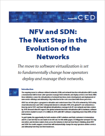 NFV and SDN: The Next Step in the Evolution of the Networks