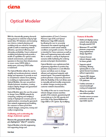 Optical Modeler
