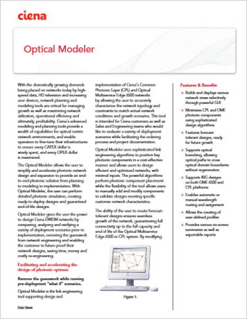 Optical Modeler