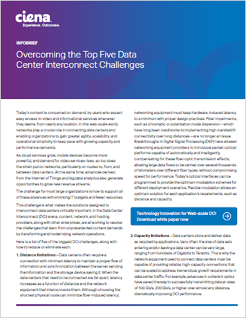 Overcoming the Top Five Data Center Interconnect Challenges
