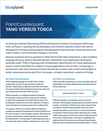 Point/Counterpoint: YANG VERSUS TOSCA
