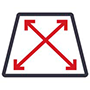 scale traffic aggregation icon