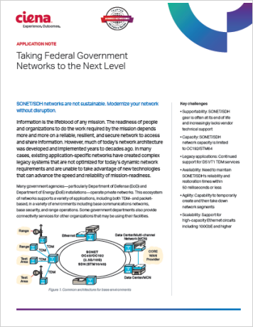 Taking Federal Government Networks to the Next Level