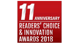 2018 Telecom Asia Readers' Choice & Innovation Awards logo