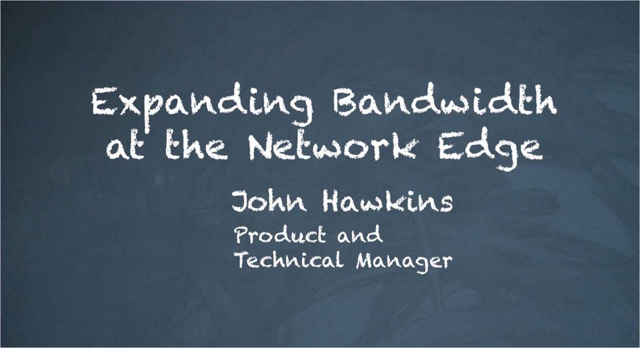 prx vid expanding bandwidth video