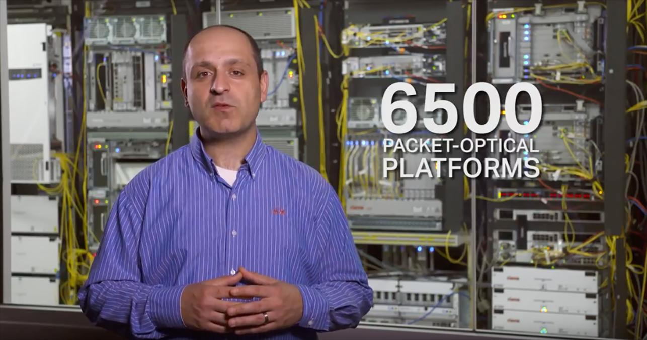 vid in the lab cienas 6500 family of packet optical platforms