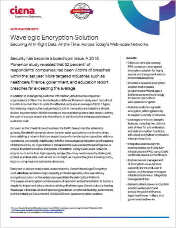 Wavelogic Encryption Solution
