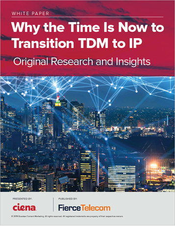 Why the time is now to transition TDM to IP