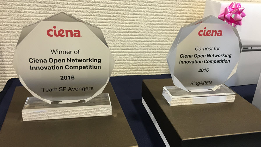 Winner plaques