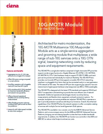 10G-MOTR Module