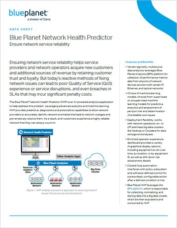 Blue Planet Network Health Predictor